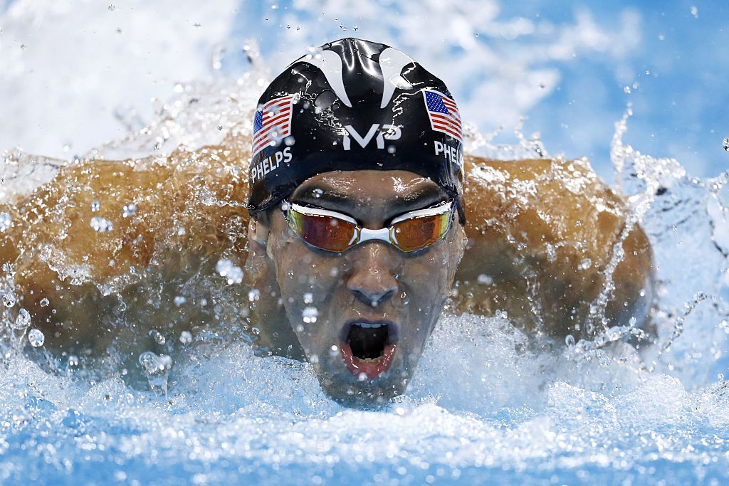 Michael Phelps at the Rio Olympics