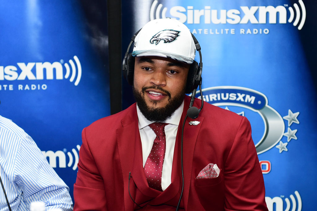 Derek Barnett of Tennessee visits the SiriusXM NFL Radio talkshow
