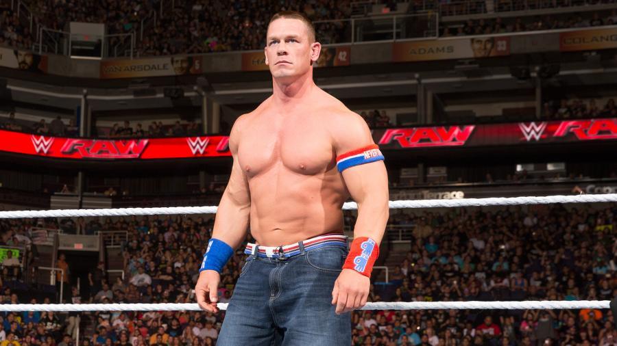 John Cena on WWE Raw