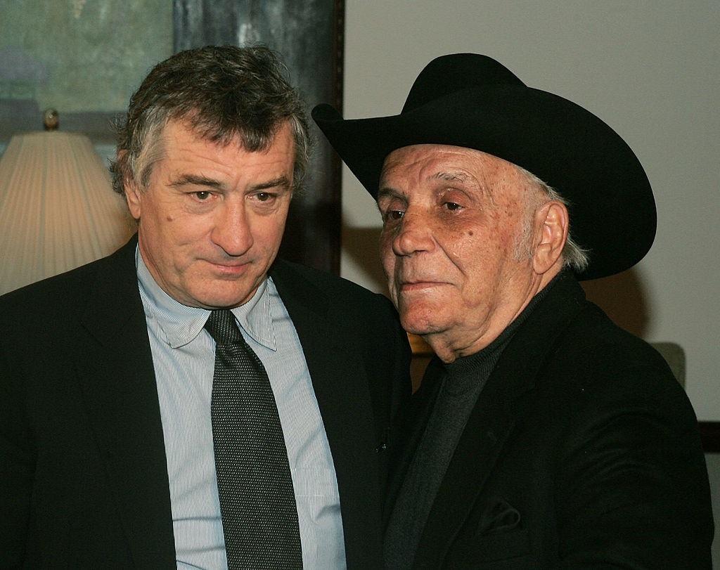 Robert De Niro and Jake LaMotta