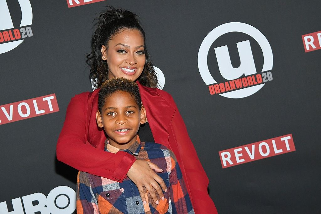 La La Anthony and son Kiyan Carmelo Anthony