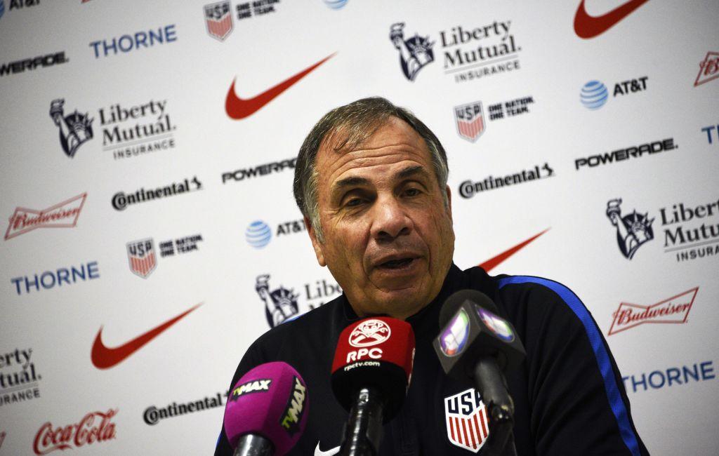 U.S. national coach Bruce Arena