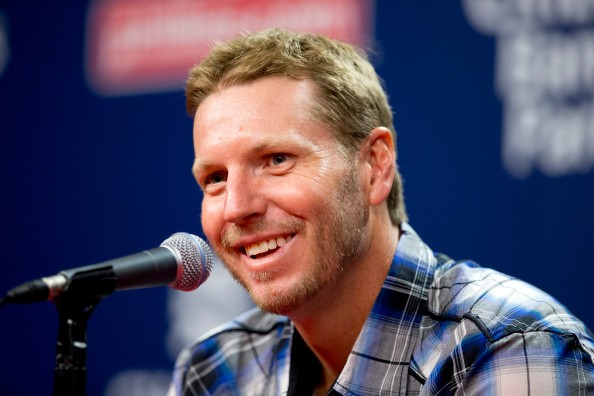 Former Major League pitcher Roy Halladay
