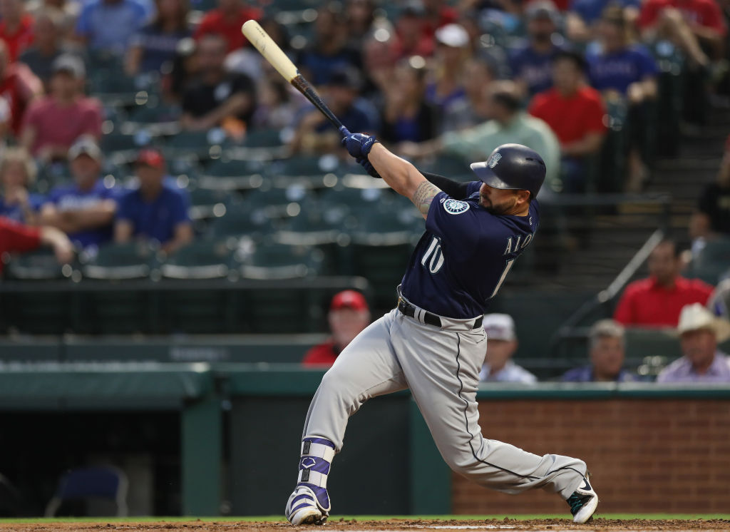 Yonder Alonso broke out this season with the A's and Mariners