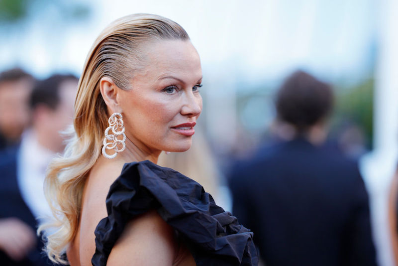Pamela Anderson at the Cannes Film Festival
