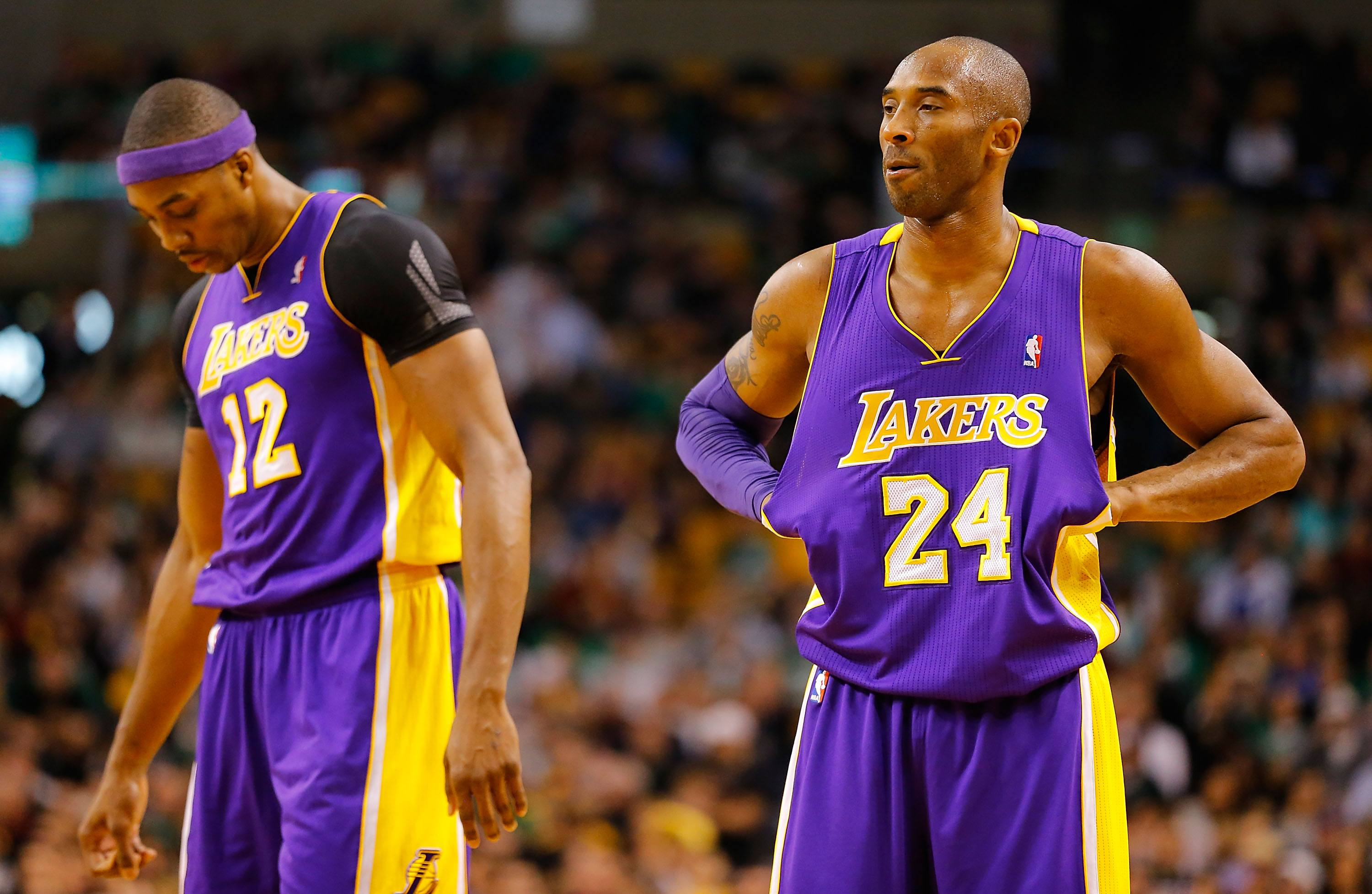 Kobe Bryant and Dwight Howard did not get along.
