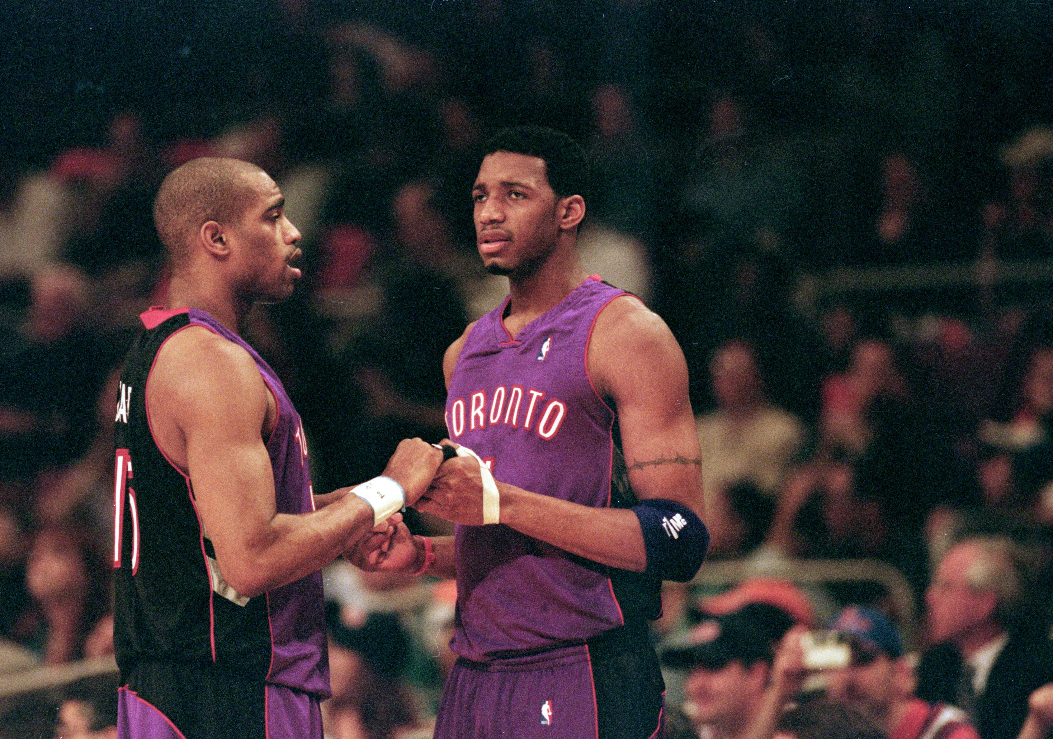 Vince Carter and Tracy McGrady have buried the hatchet.