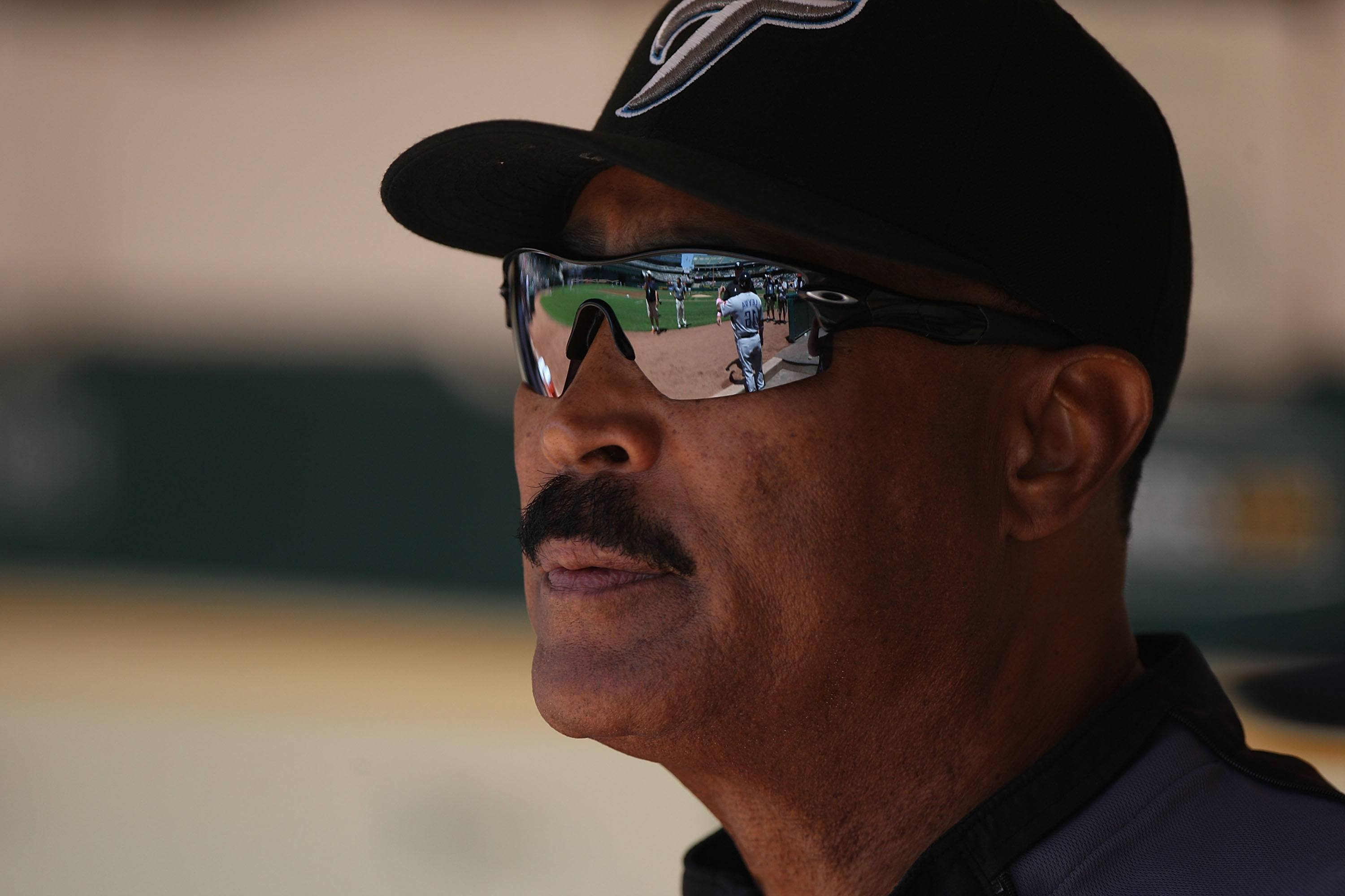 Manager Cito Gaston of the Toronto Blue Jays.