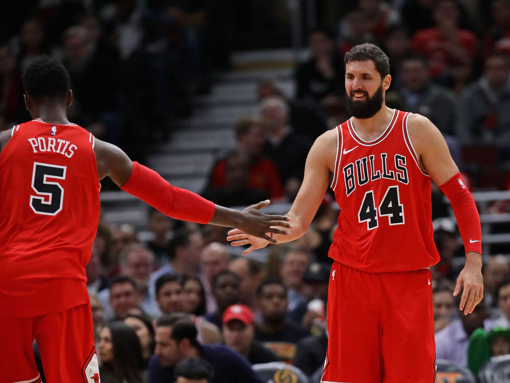 Nikola Mirotic and Bobby Portis had a major falling out.