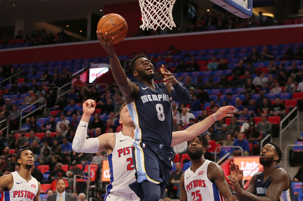 James Ennis goes up for a layup.