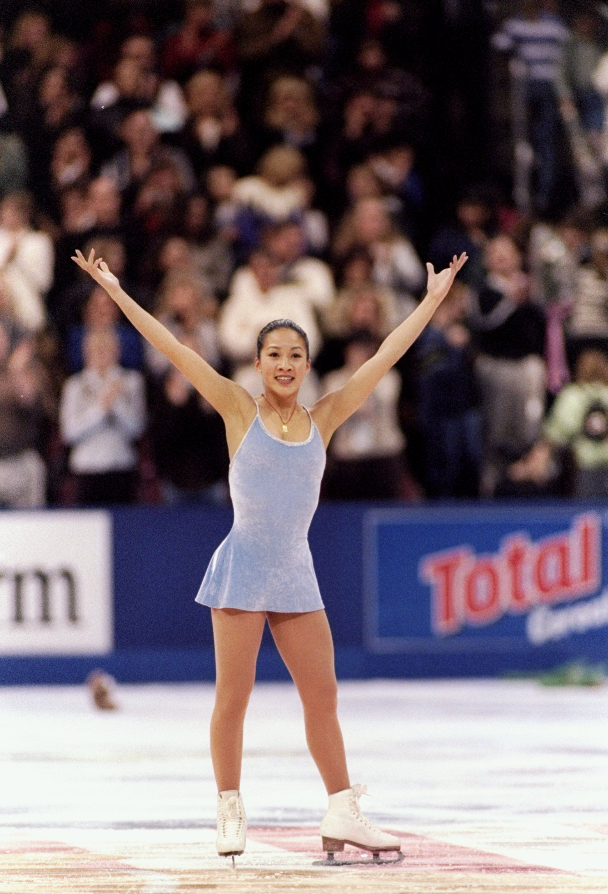 Michelle Kwan is one of the richest female athletes in the world.