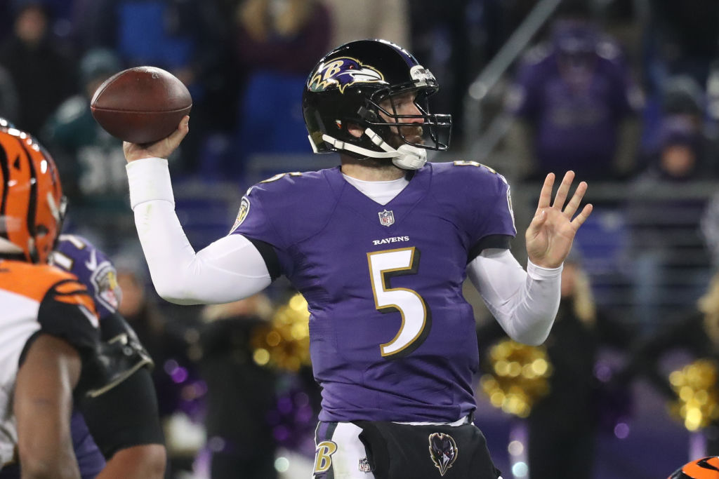 Joe-Flacco easiest schedules NFL 2018