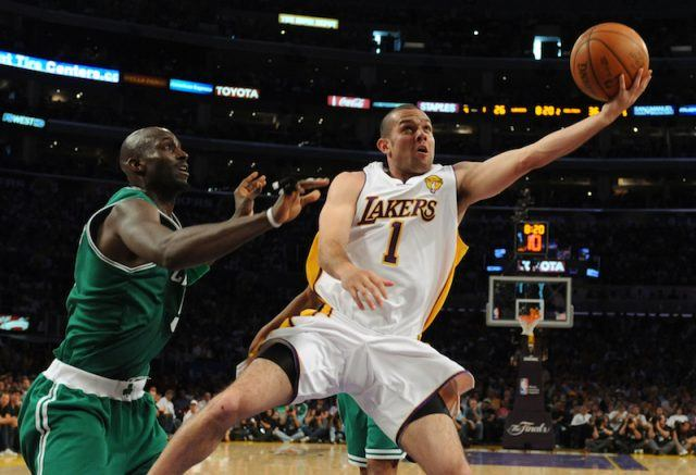 The 2008 Celtics vs. Lakers basketball game.