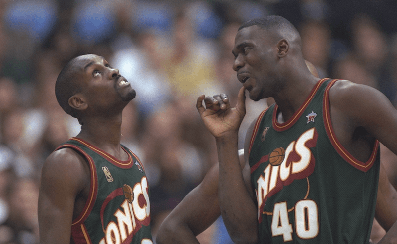 Gary Payton and Shawn Kemp, Seattle Supersonics