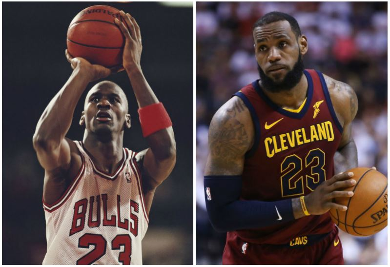 new concept b3b45 9ce42 Who Is Better Under Pressure  Michael Jordan or Lebron James