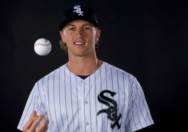 Michael Kopech #78 of the Chicago White Sox