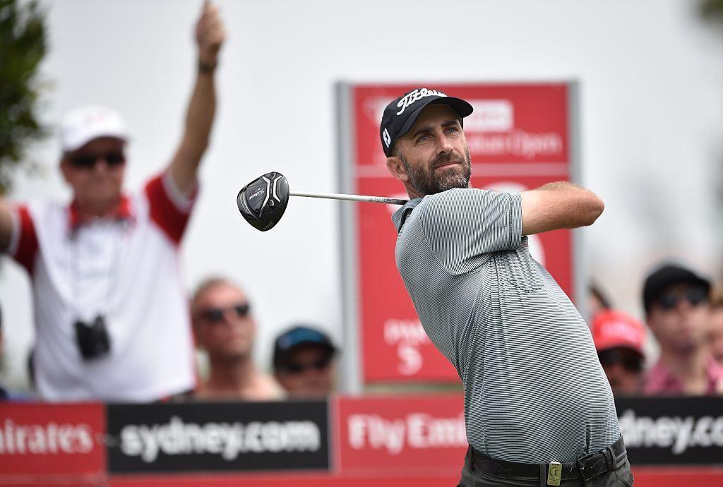 PGA golfer Geoff Ogilvy