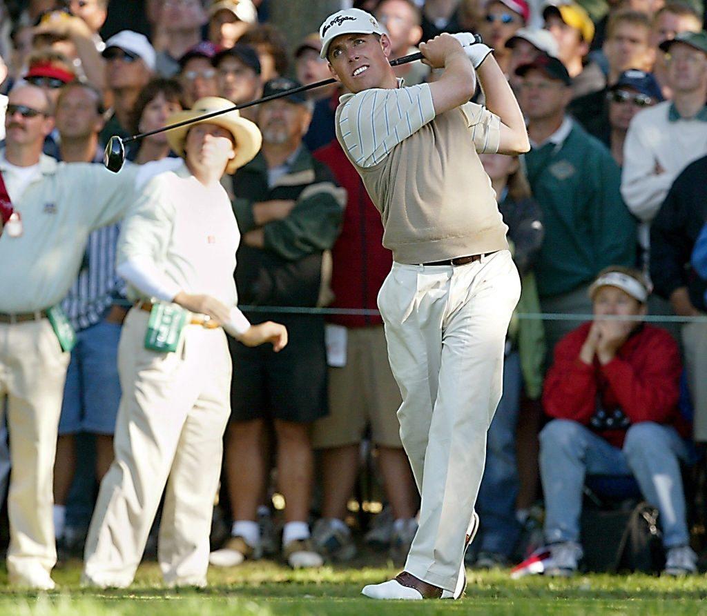 PGA golfer Justin Leonard