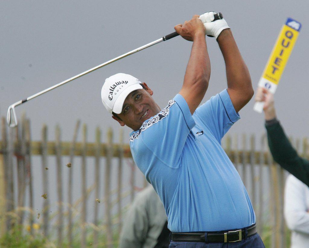 Golfer Michael Campbell