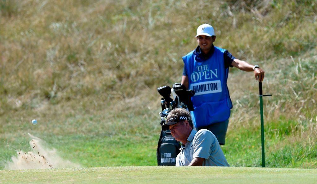 PGA golfer Todd Hamilton