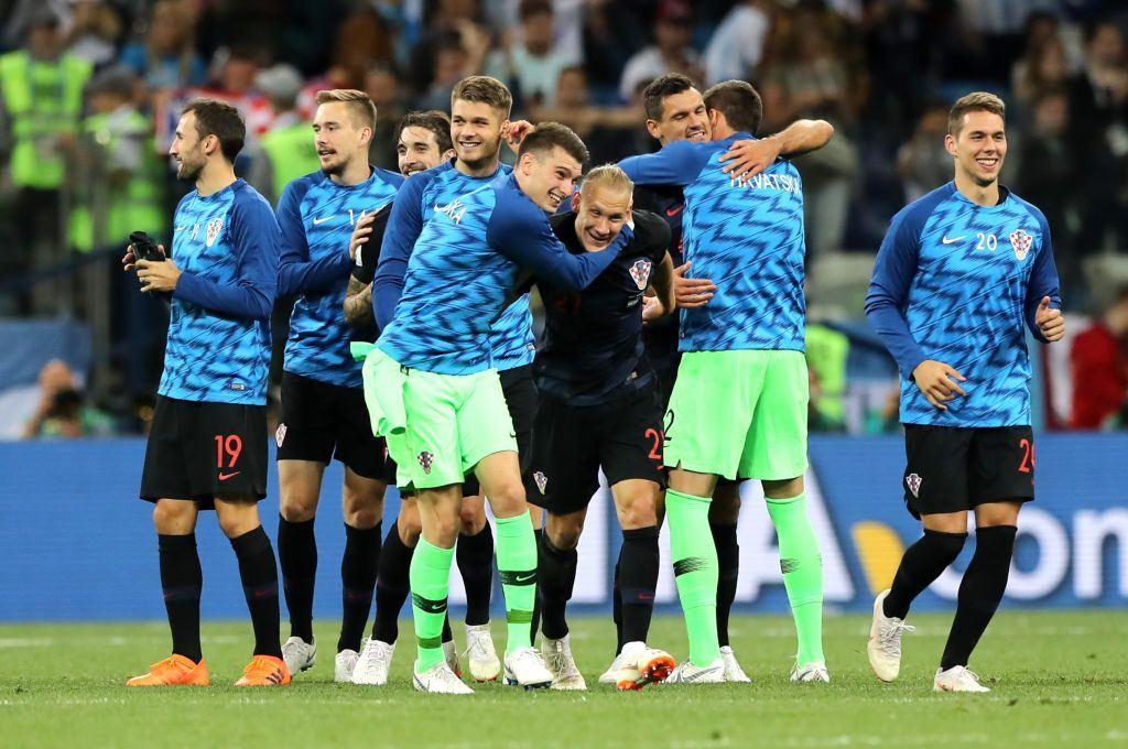 Croatian World Cup team