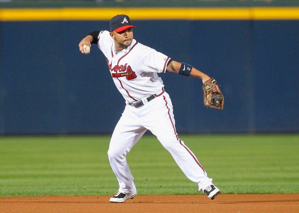 Atlanta Braves' shortstop Alex Gonzalez