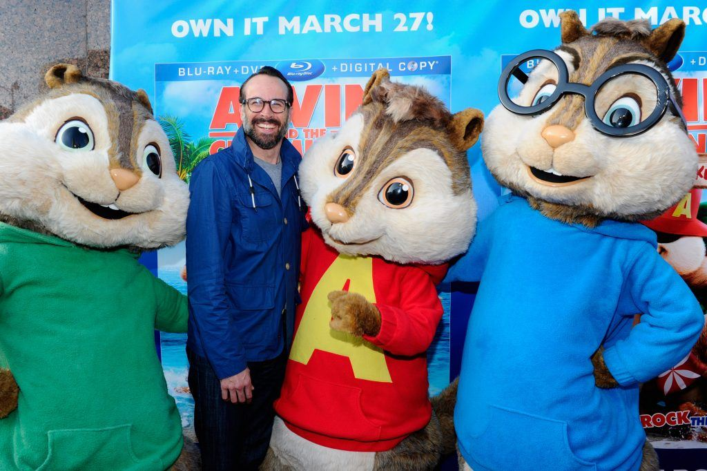 Jason Lee and Alvin and the Chipmunks