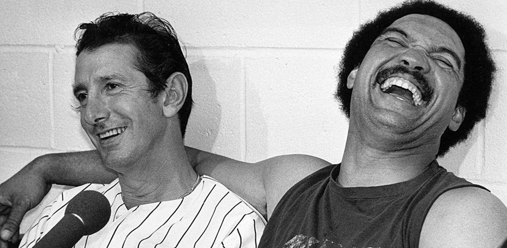 Billy Martin and Reggie Jackson