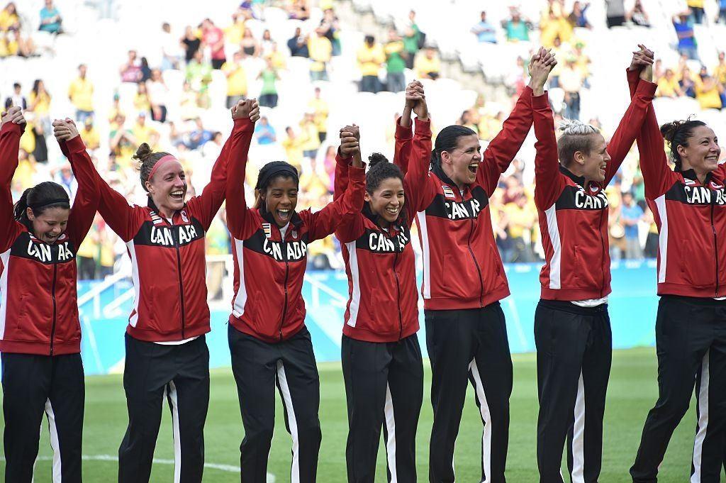 Canadian women's soccer team