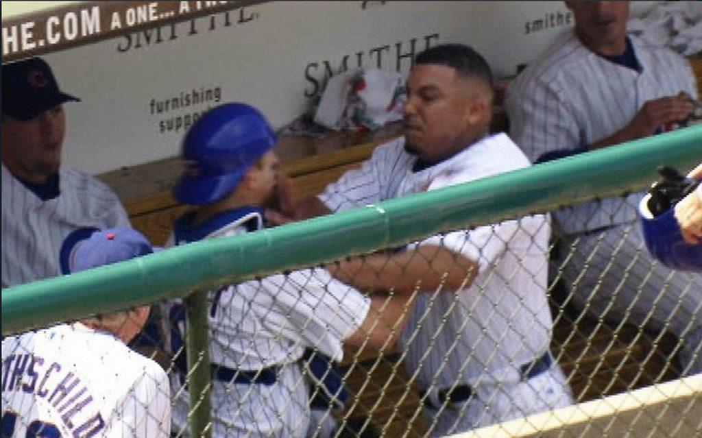 Sweet Lou wasn't the only one who fought with Carlos Zambrano