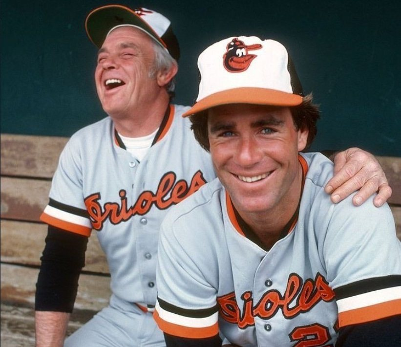 Earl Weaver and Jim Palmer