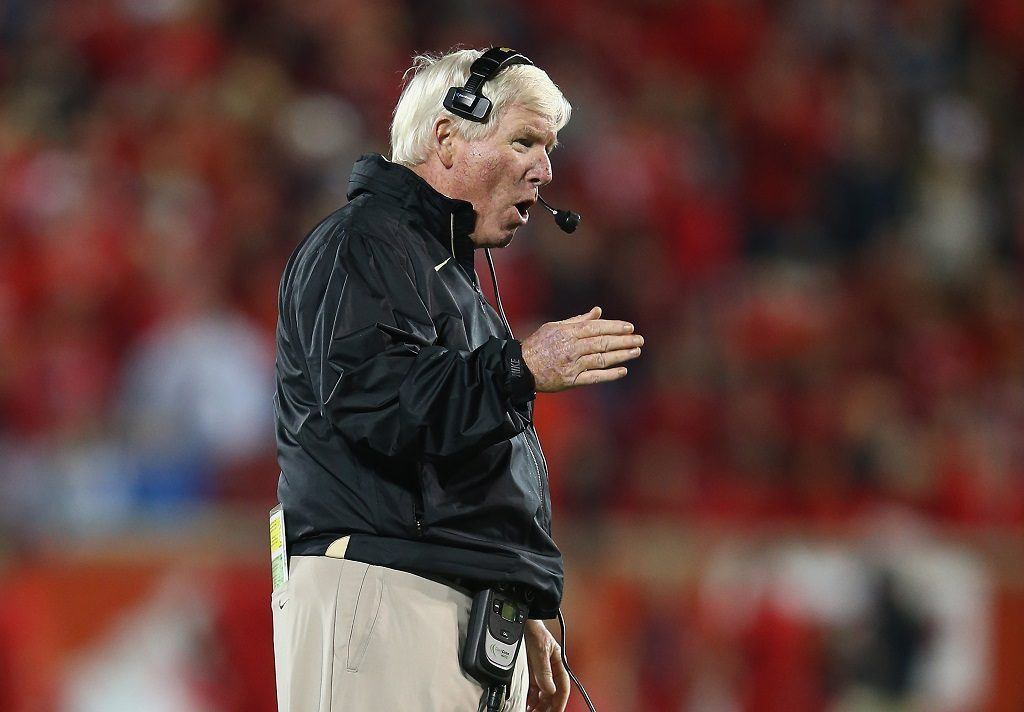 George O'Leary while coaching Central Florida