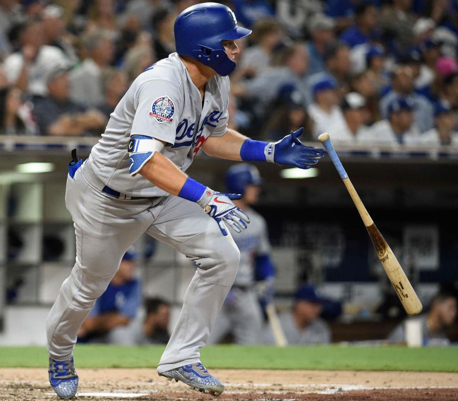 Los Angeles Dodgers outfielder Joc Pederson
