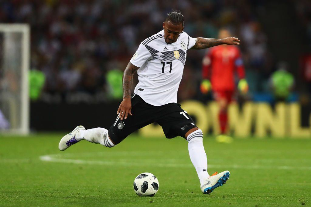 Jerome Boateng of Germany in action during the 2018 FIFA World Cup