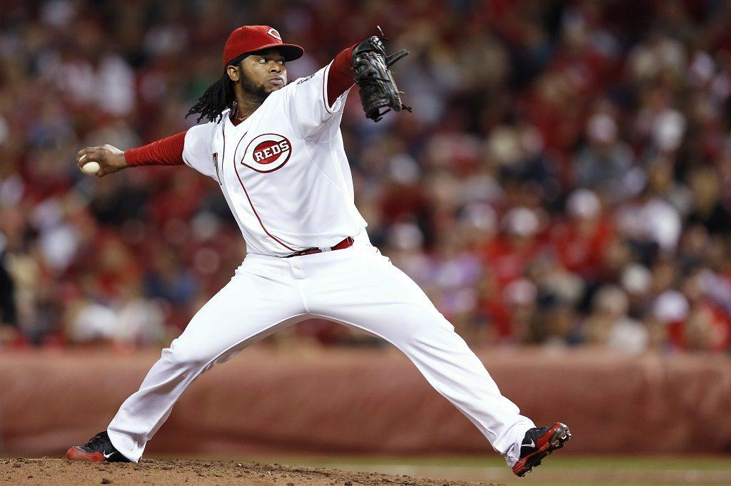 Pitcher Johnny Cueto