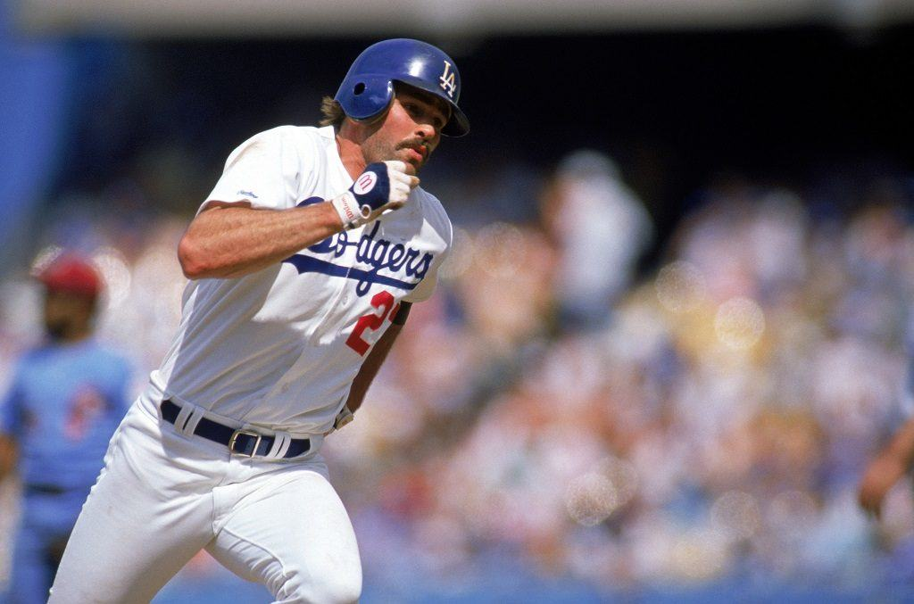 Los Angeles Dodgers outfielder Kirk Gibson