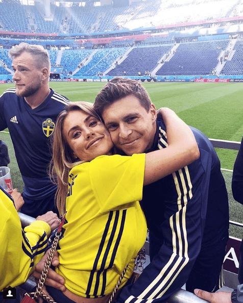 Maja Nilsson and Victor Lindelof