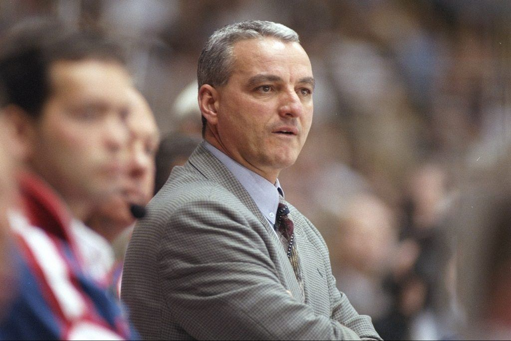 Montreal Canadiens head coach Mario Tremblay