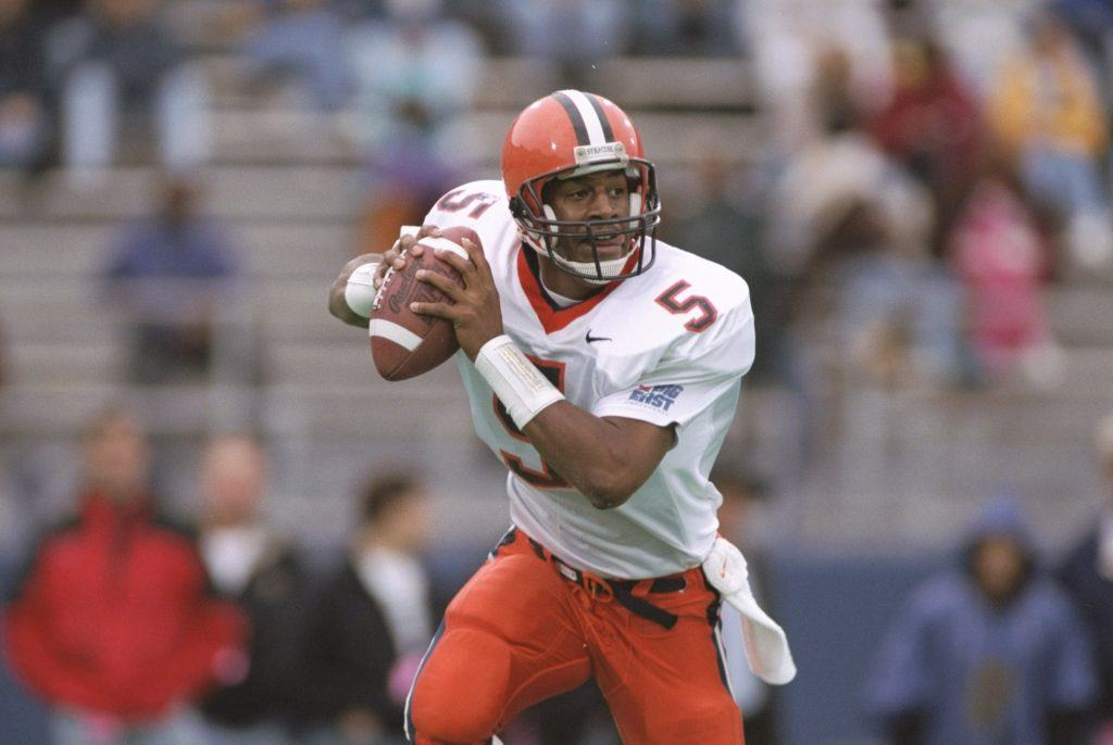 NCAA Football Syracuse Donovan McNabb