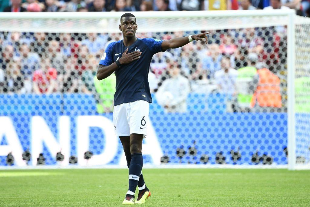 Paul Pogba for France's soccer team
