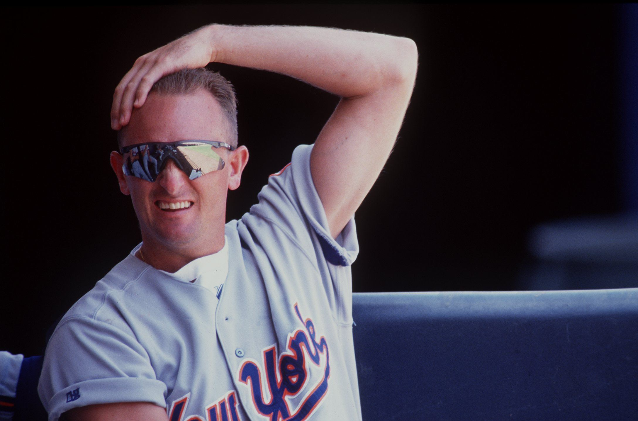 Bret Saberhagen is one of the retired athletes still getting paid by their old teams