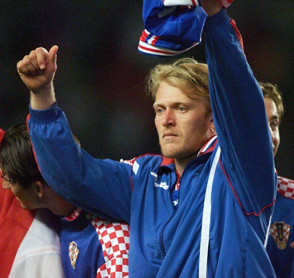 Robert Prosinecki Croatia and Yugoslavia soccer player