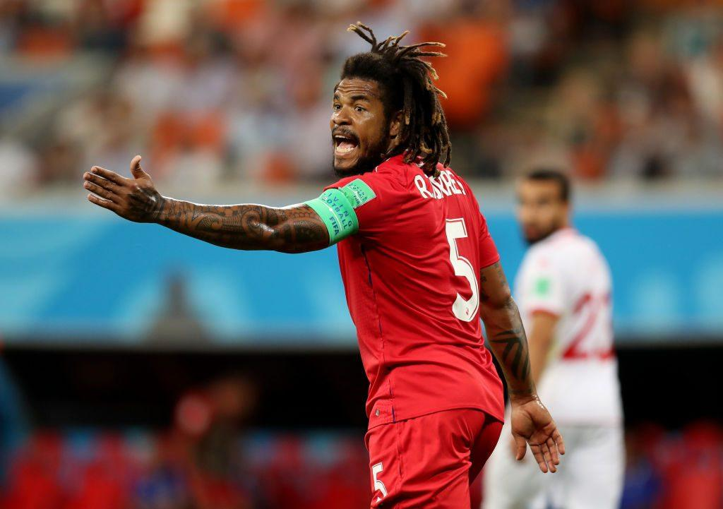 Roman Torres of Panama during the 2018 FIFA World Cup Russia