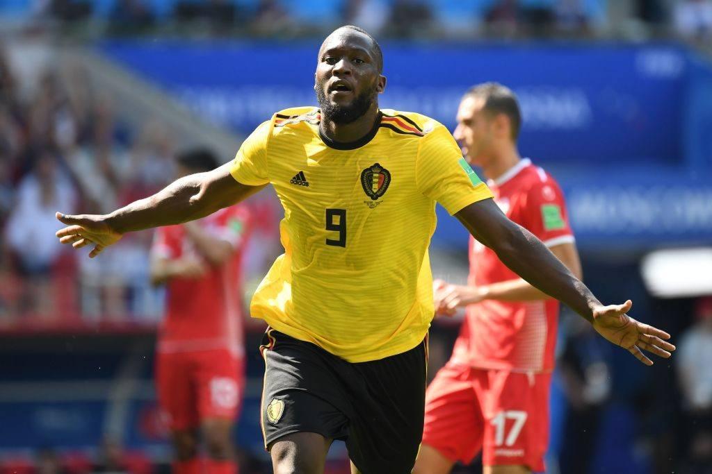 Belgium soccer player Romelu Lukaku