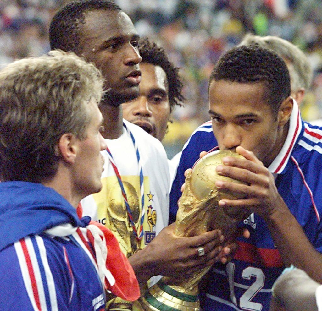 Thierry Henry France soccer