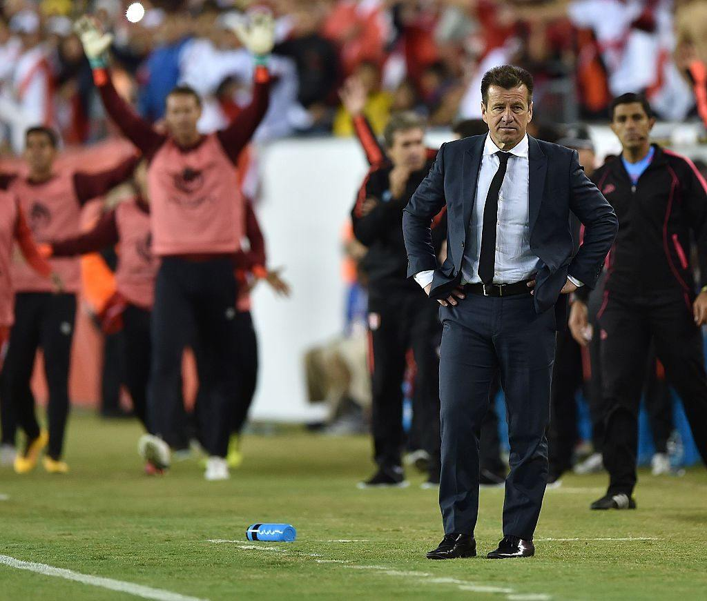 Brazil soccer coach Dunga was a former player