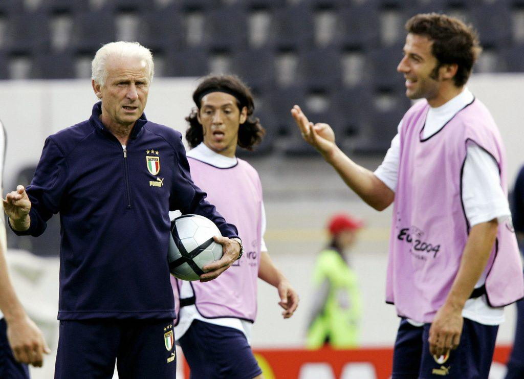 One time Italy national team coach Giovanni Trapattoni