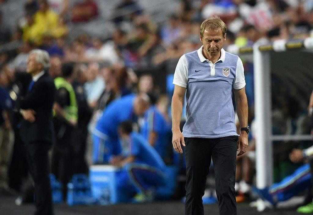 USA soccer coach Jurgen Klkinsmann