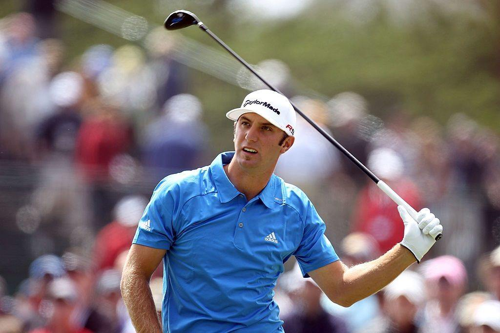 Dustin Johnson at the U.S. Open in 2010
