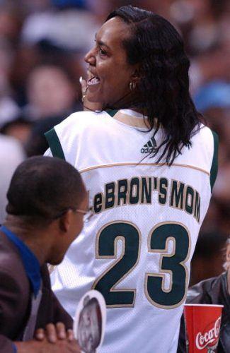 LeBron James mother